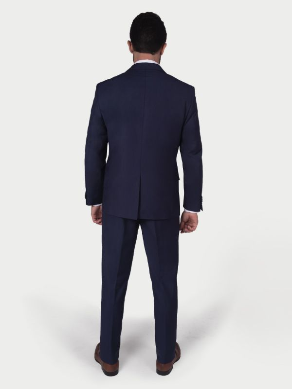TERNO HOMBRE COMFORT FIT AZUL OSCURO 0696